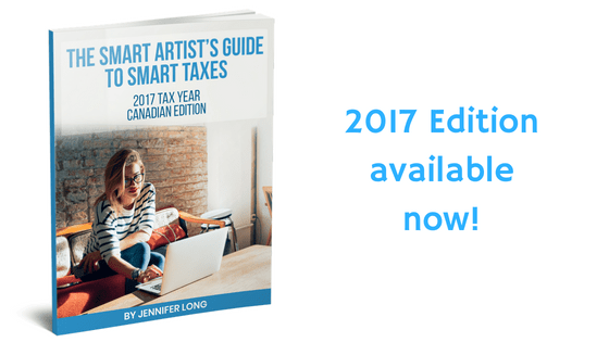 The Smart Artist's Guide to Smart Taxes