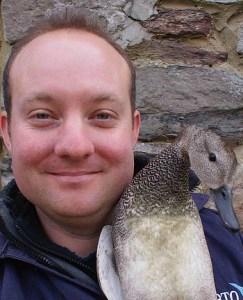 Ed Drewitt naturalist and feather expert