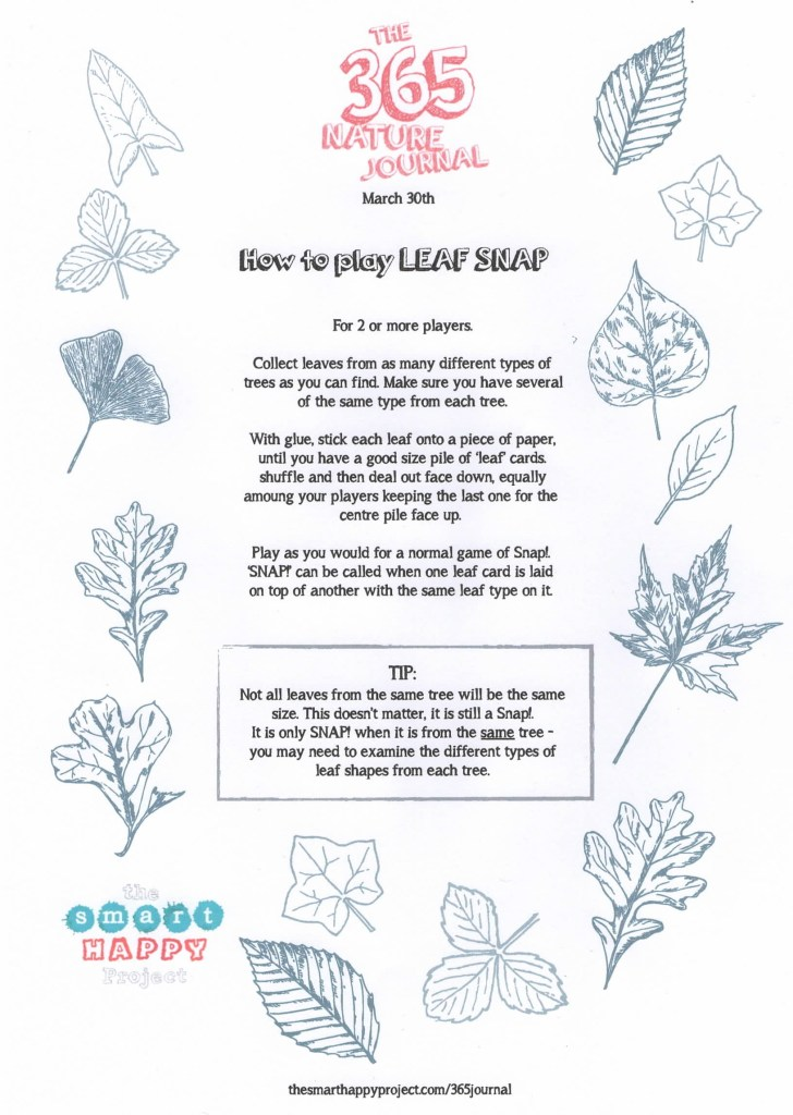Nature games - Leaf Snap