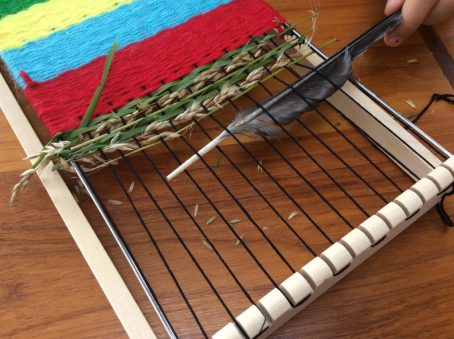 june of Nature journal natural weaving