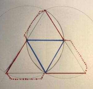 geometric tetrahedron net