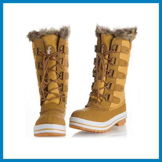 Women's ROF Arctic Warm Fur Lined Eskimo Snow Boots