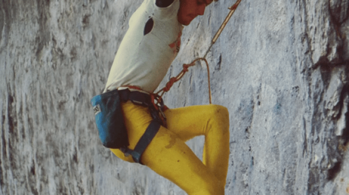 set rock climbing routes