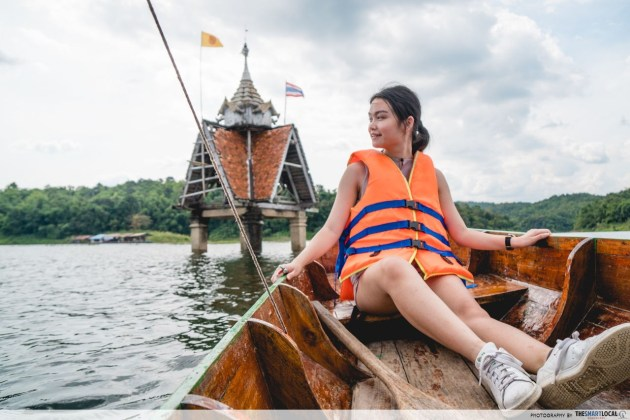 boat tour to the Sunken Temple