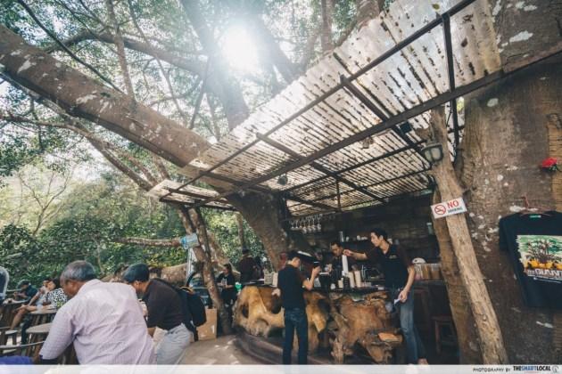Giant chiang mai - cafe counter