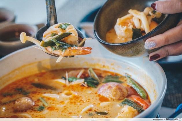 Anna Farm & Eatery - hot curry