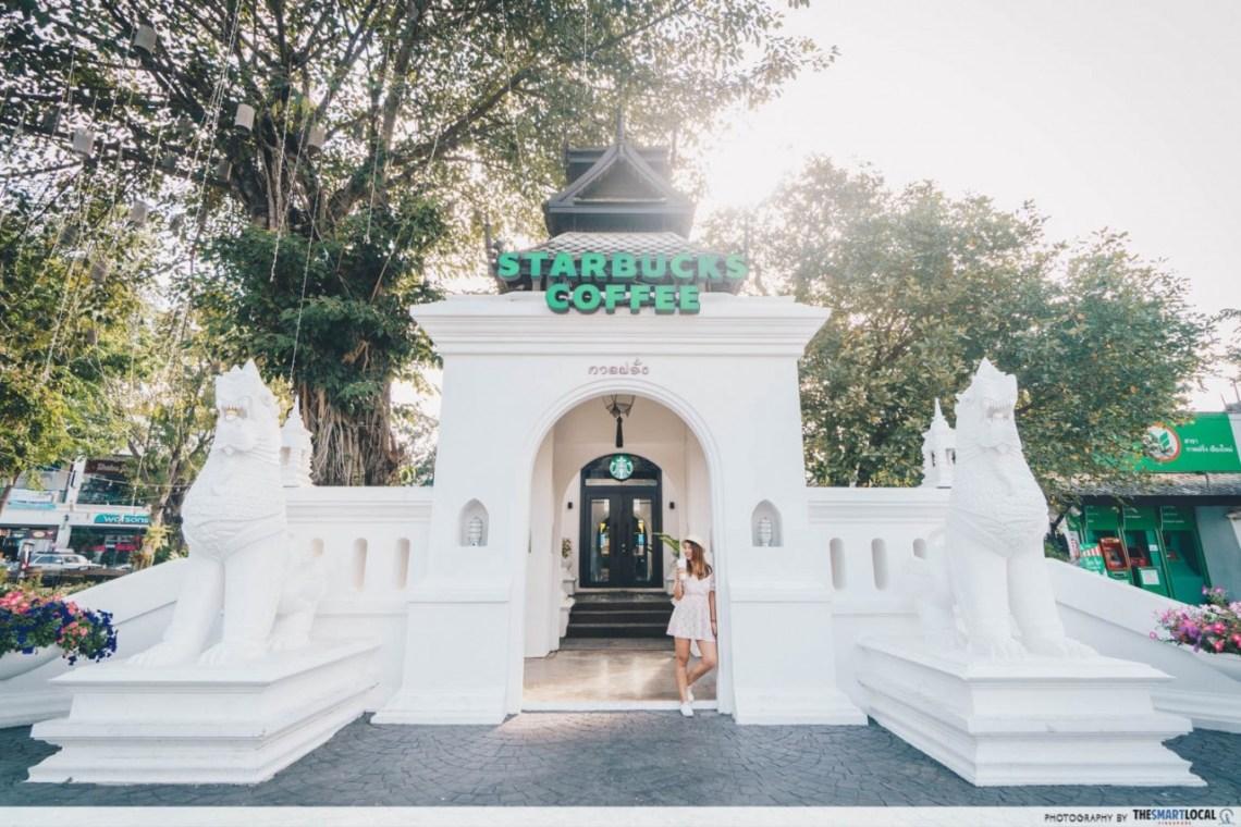 Chiang Mai - Kad Farang Starbucks Entrance