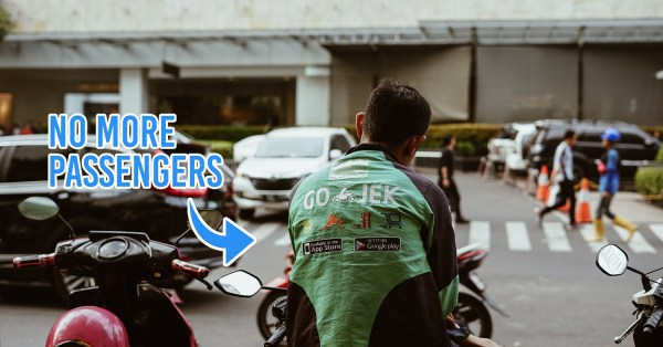 Online Ojek Drivers In Jakarta Now Banned From Carrying Passengers Due To COVID-19 Health Concerns, Can Only Make Deliveries
