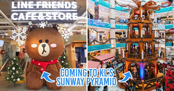 LINE Friends Pop-Up Store Is Here At Sunway Pyramid In Malaysia, Bringing BT21 Merch With It