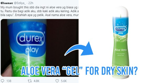 M'sian Mum Accidentally Buys Lube For Daughter's Dry Skin, Who Lelongs It Off On Twitter