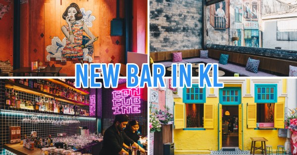 Concubine KL Is A New Bar With Old-School Murals, Heritage Vibes & Locally-Inspired Cocktails