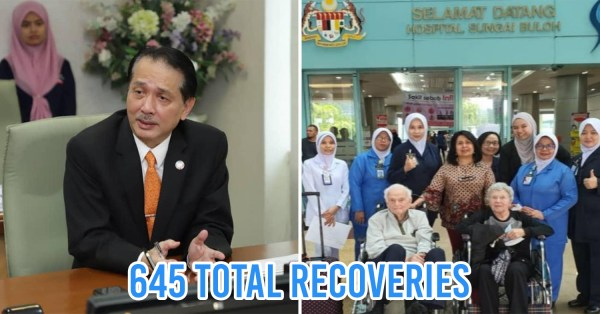 M'sia Records Highest Number Of COVID-19 Recoveries In 1 Day, Shows Progress In Flattening The Curve