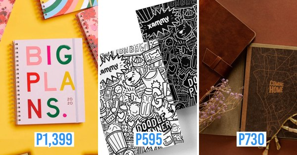 12 Yearly Planners From P20 You Need RN To Give You A Headstart On Your 2020 New Year Resolutions