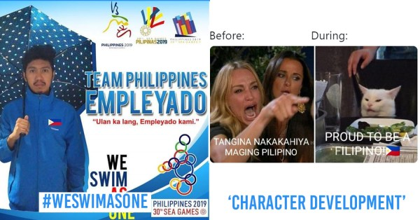 """9 SEA Games Memes That Only Filipinos Can Relate To From #WeSwimAsOne To Our """"Character Development"""" Journey"""
