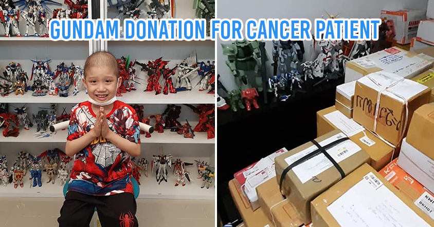 Gundam donation