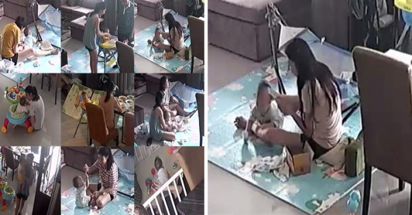Man Watches Wife On CCTV To Check-In On Her, Realises How Hard Stay-At-Home Moms Work