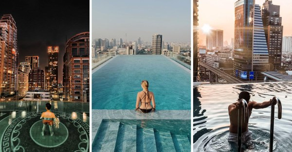 8 Best Bangkok Hotels With Infinity Pools From $95/Night To Pack Your Swimsuits For