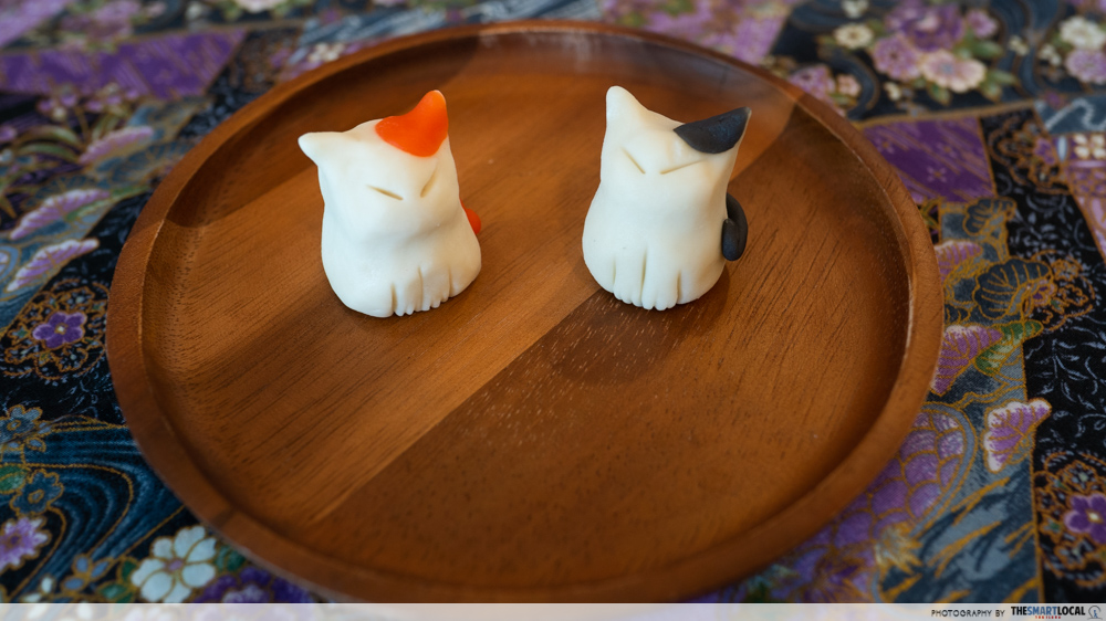 Okurimono Cafe Is A Cat-Themed Japanese Cafe In Ekkamai With Adorable Desserts And Kitties