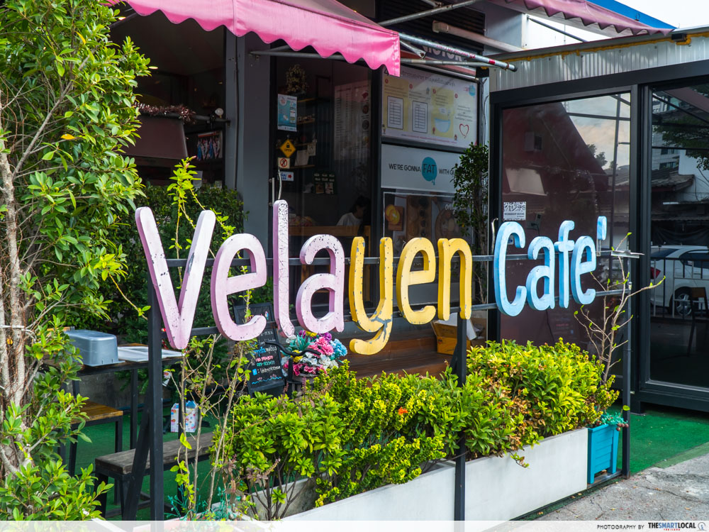 Bangkok's Velayen Cafe serves ice cream buffet