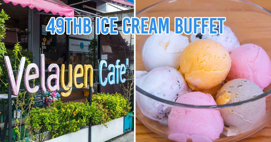 Ice Cream Buffets at Velayen cafe