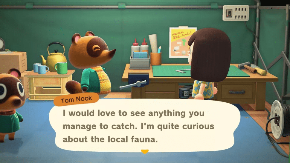 animal crossings new horizons tom nook