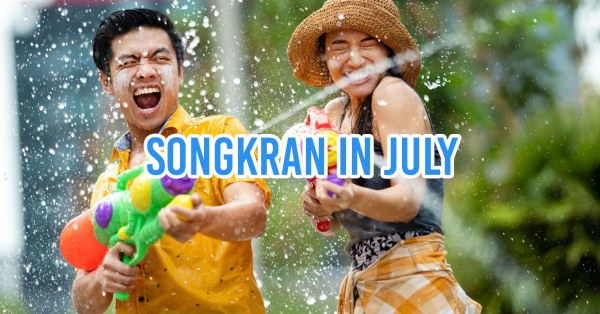 Songkran Holidays To Be Held In July If Cases Remain Very Low
