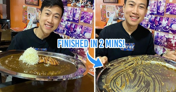 Thai Speed Eater Finishes 2kg Of Curry Rice In Under 2 Minutes, Sets Record