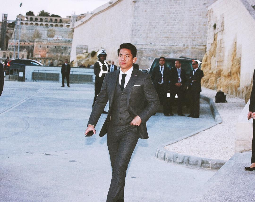 Prince of Brunei suit