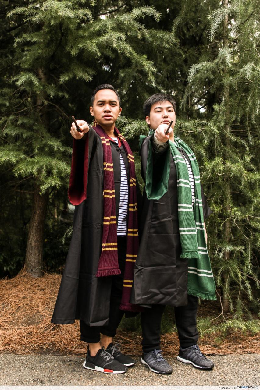 universal studios japan harry potter wand slytherin gryffindor wizarding world