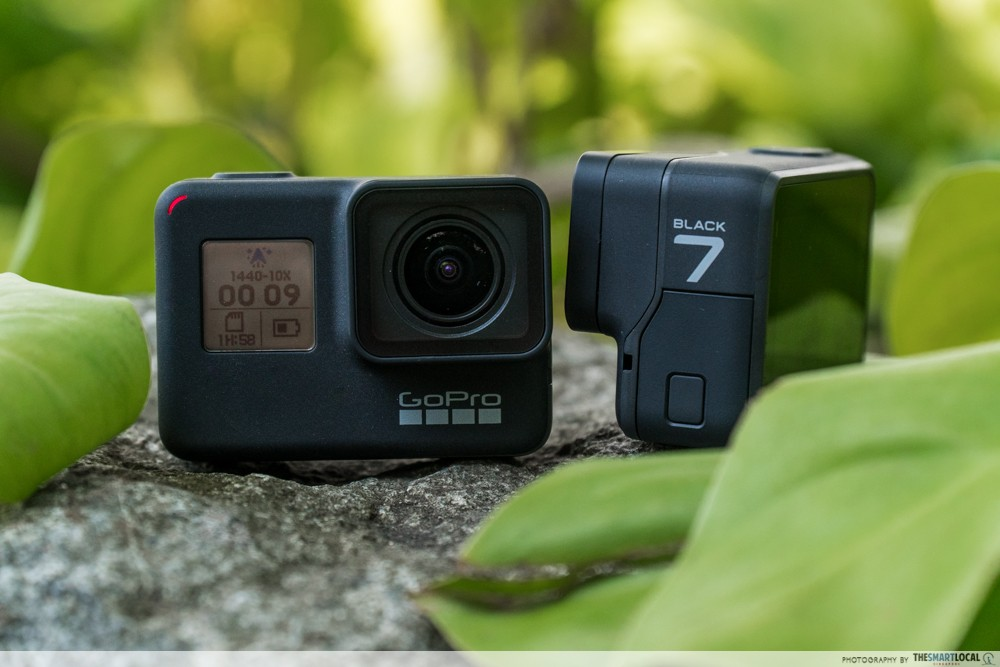 gopro hero 7 product shot review