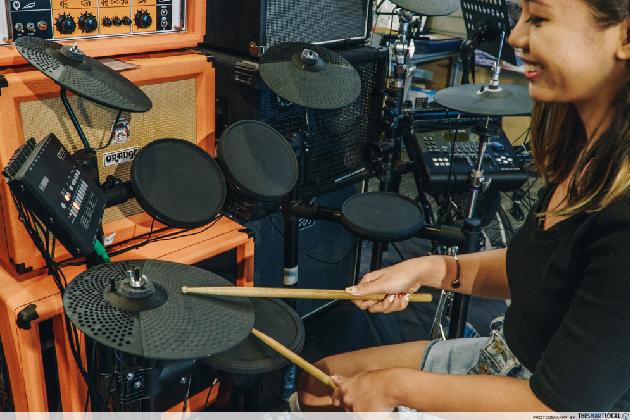 yamaha electronic drum kit