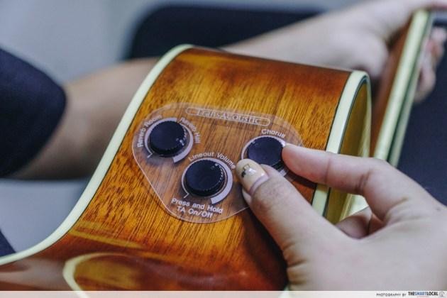 yamaha transacoustic guitar