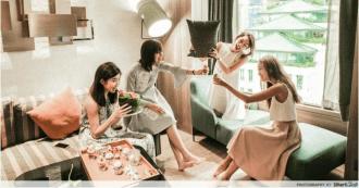 Hen's night party - Hotel Jen Tanglin