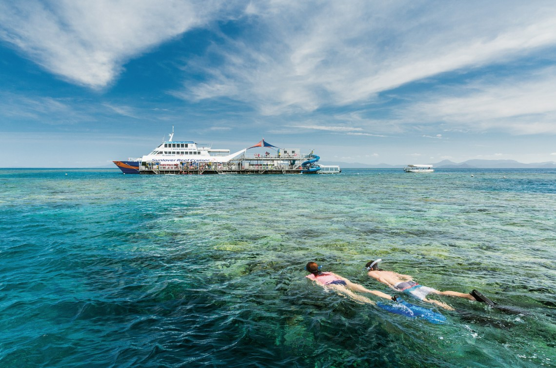 Queensland trips jetabout holidays - great barrier reef cruise