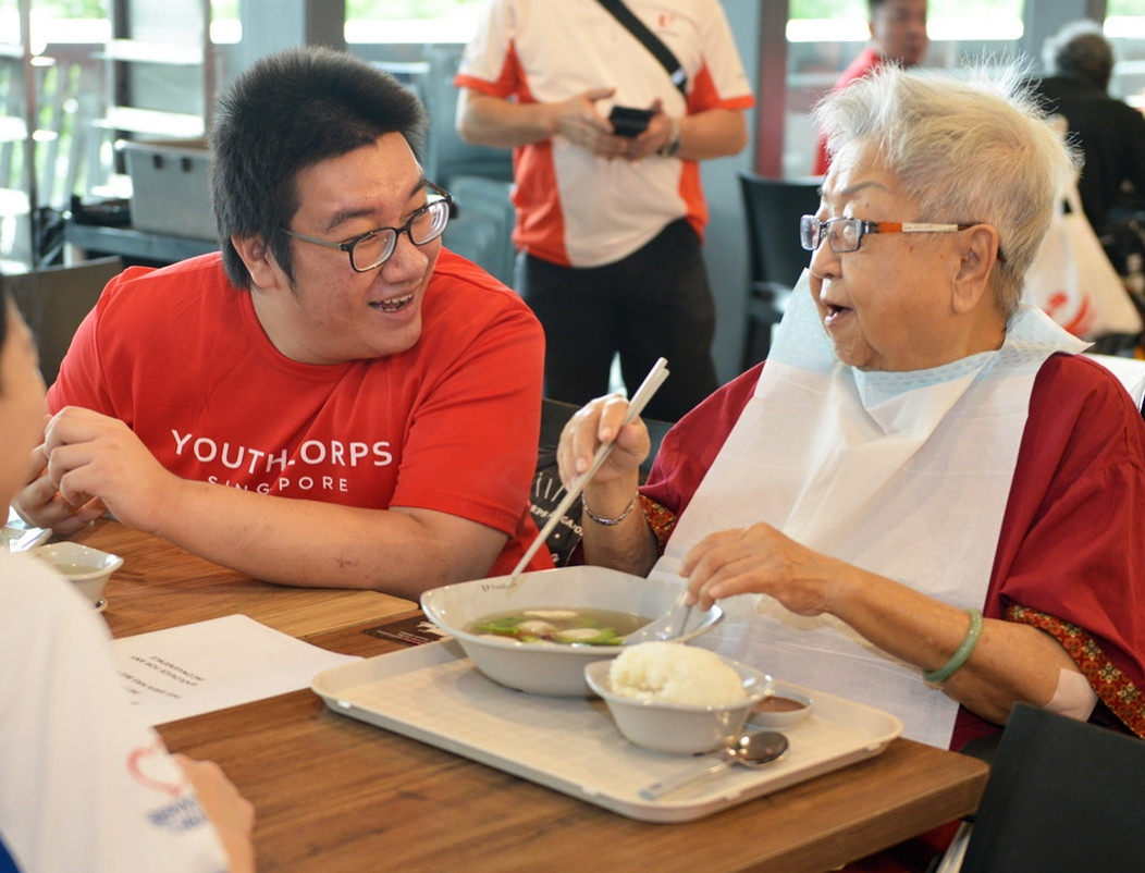 YCSW workshop - volunteering with seniors