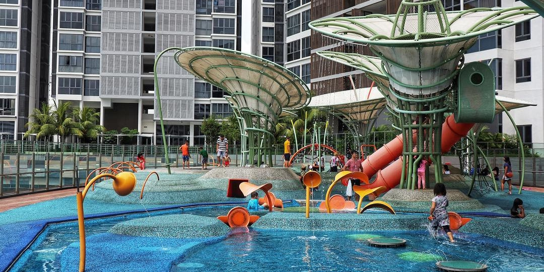 15 Free Water Playgrounds In Singapore To Take Your Kids To For A Respite From The Heat