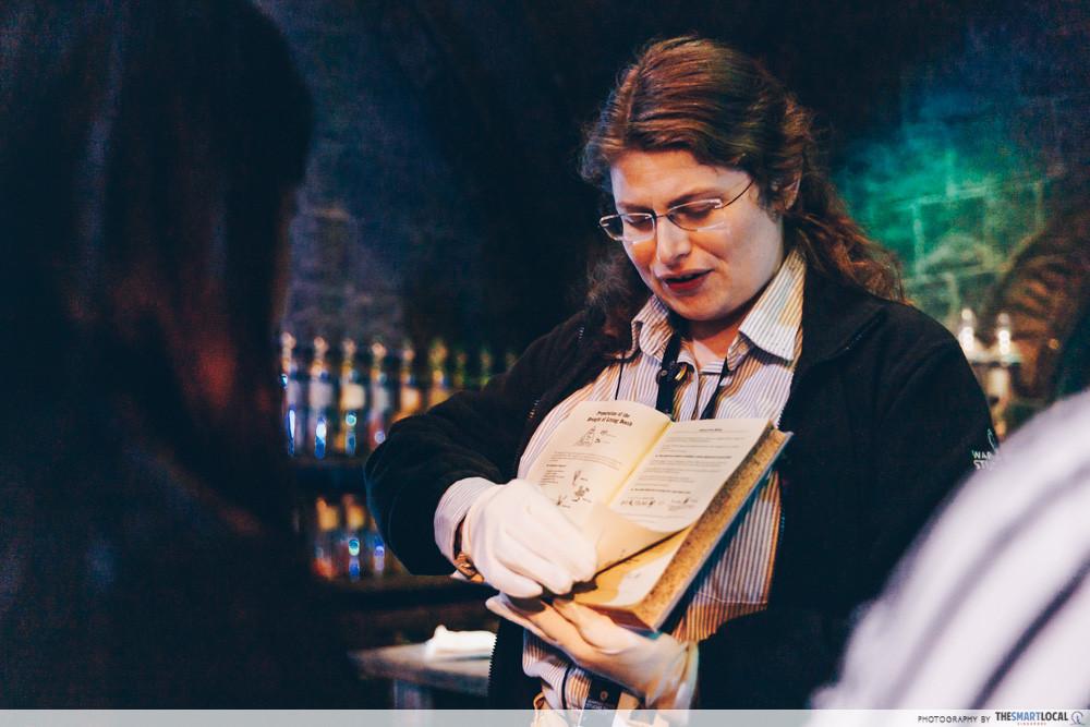 Harry Potter Studio Tour - interactive activities