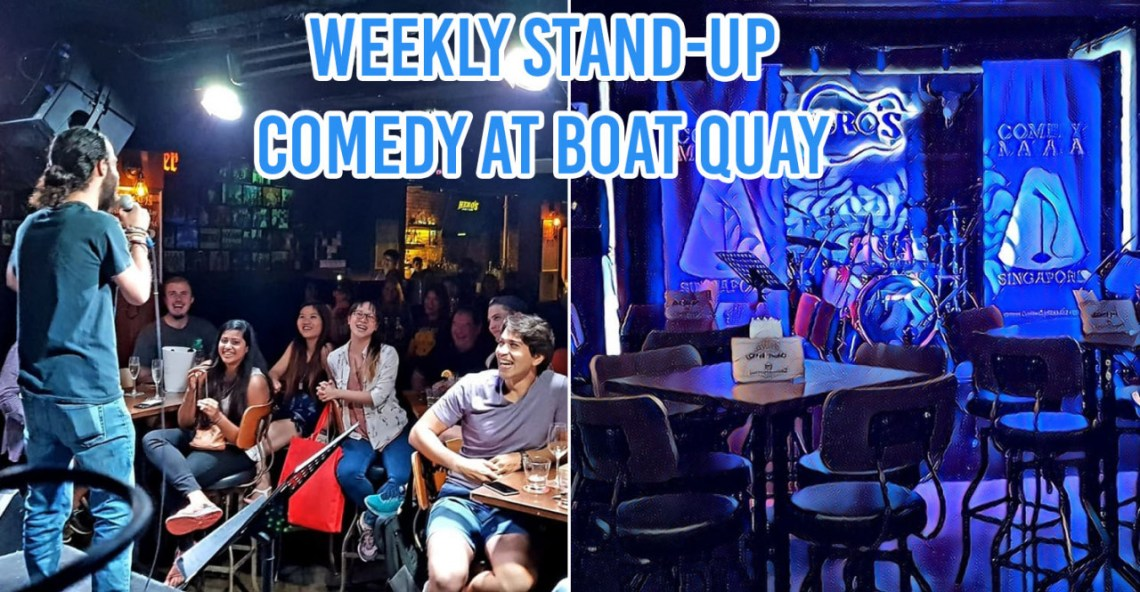 regular comedy shows in singapore