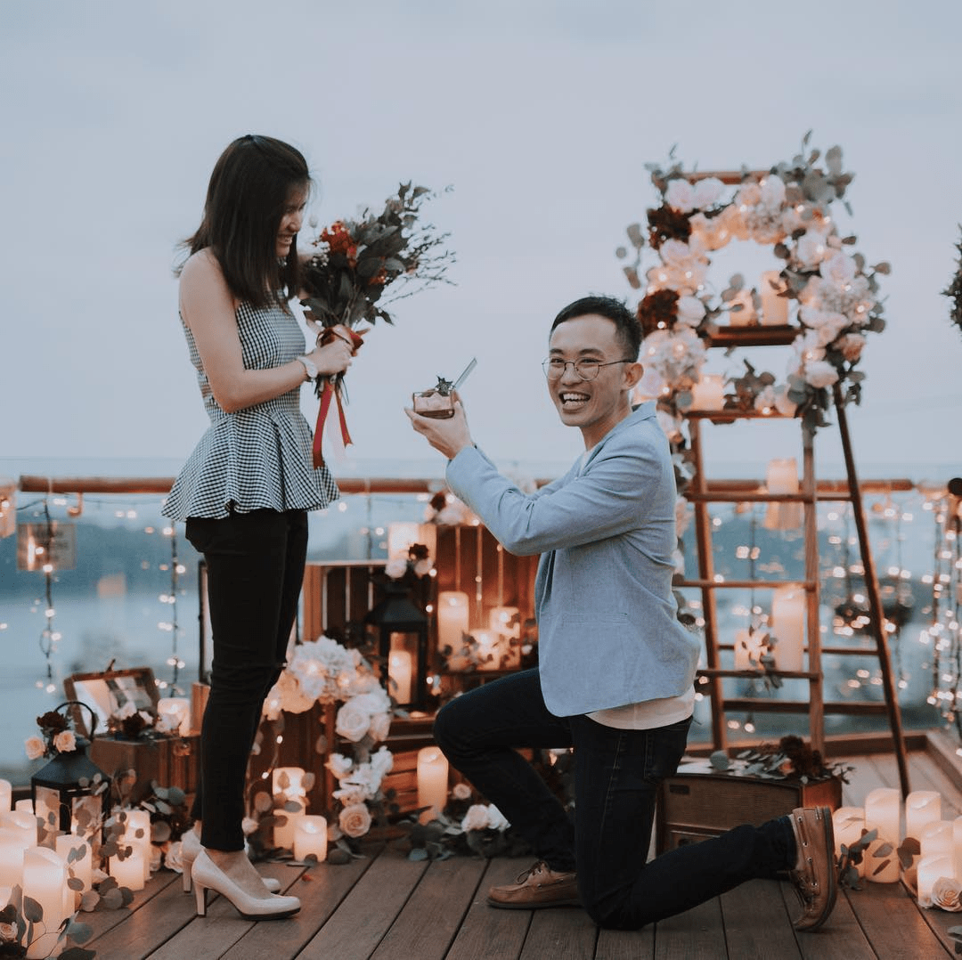 themed proposal setup idea planning service engagement invited