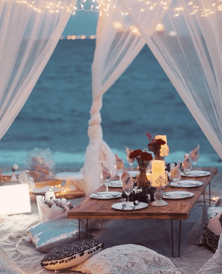 themed proposal setup idea planning service engagement picneeds picnic halal