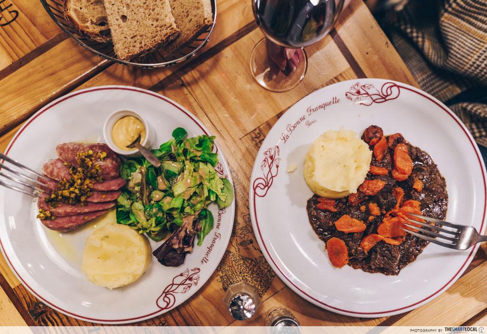 La Bonne Franquette - dinner set