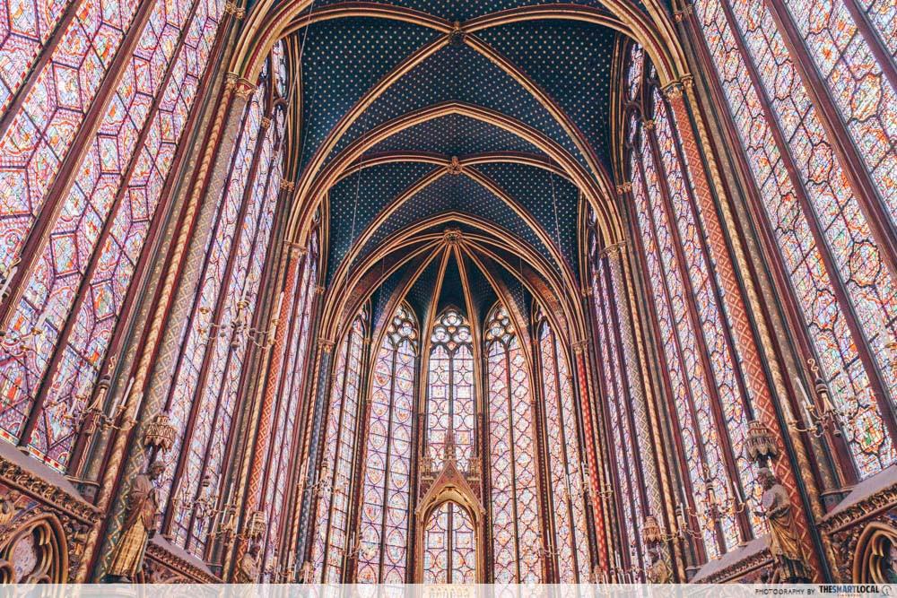 Saint Chapelle in Paris