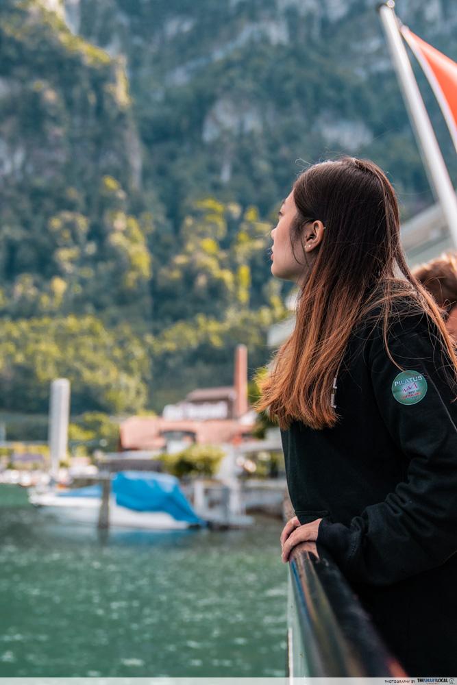 Lake Lucerne Cruise ride