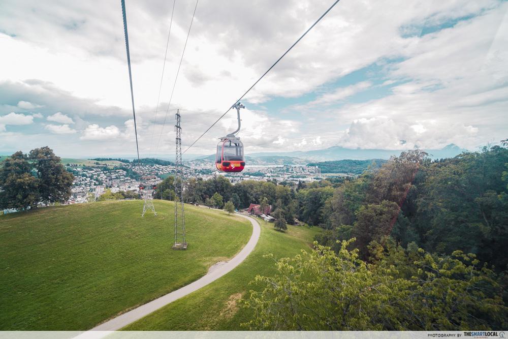 Mount Pilatus Gondola ride