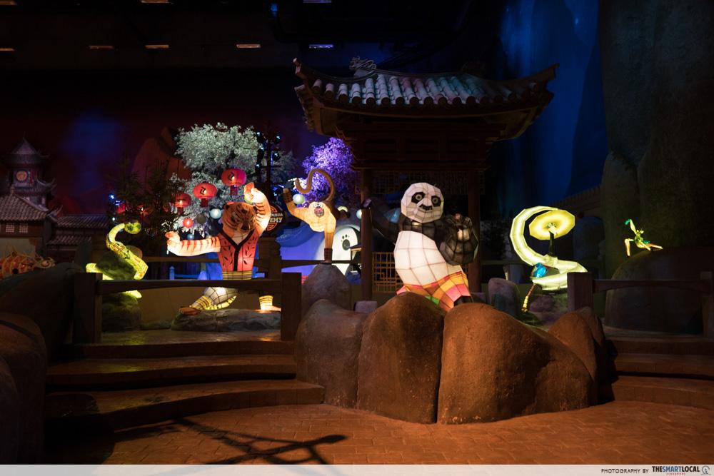 kung fu panda asian village