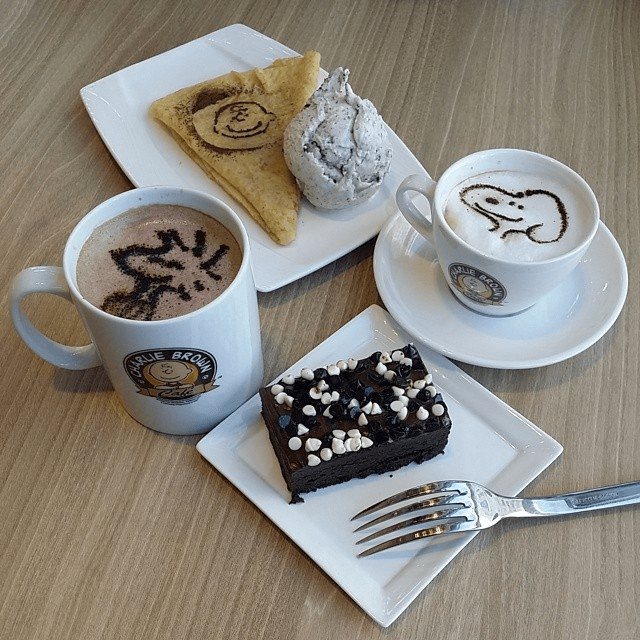 Charlie Brown Cafe Singapore