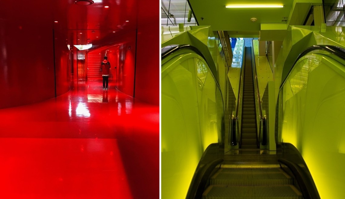 Seattle travel guide SIA - seattle public central library red