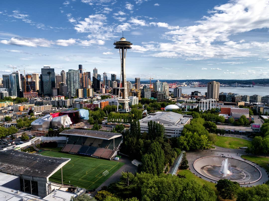 Seattle travel guide SIA - seattle space needle
