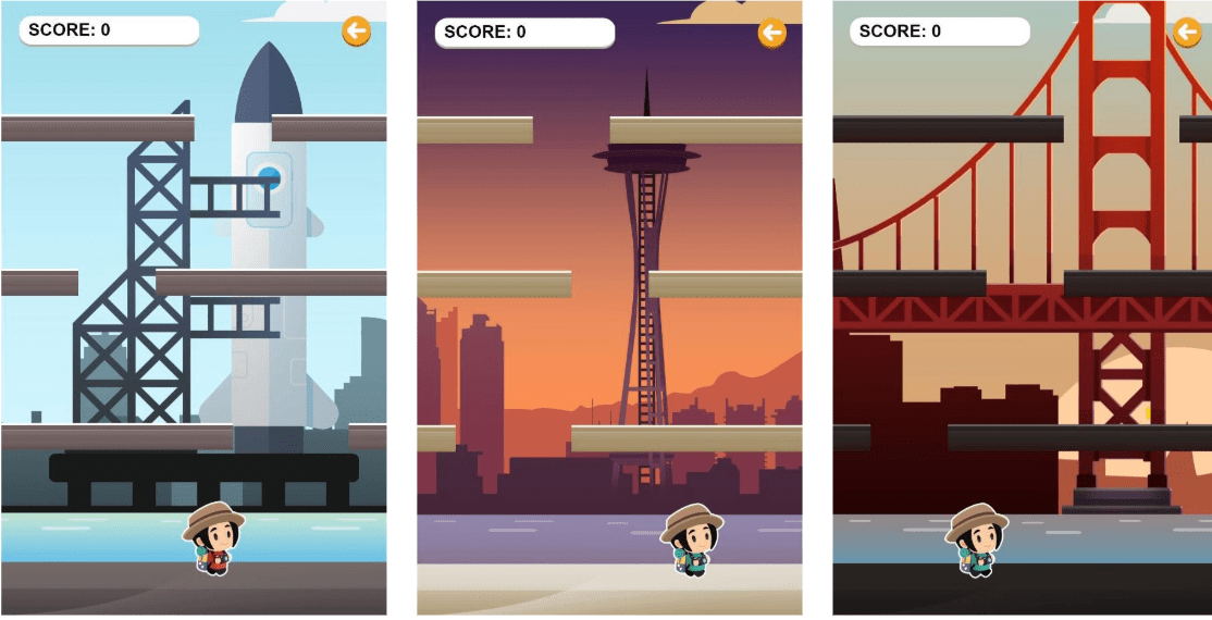 Seattle travel guide SIA - singaporeair games icy tower