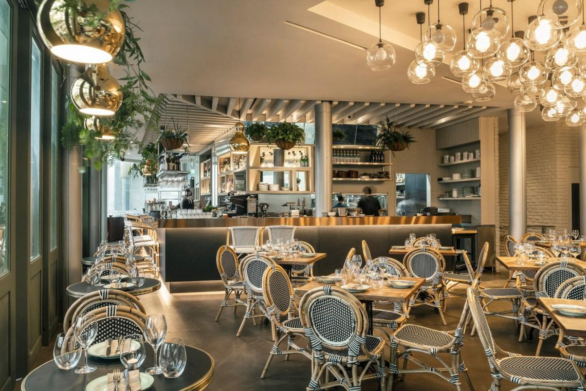 the botanic restaurant raffles place food